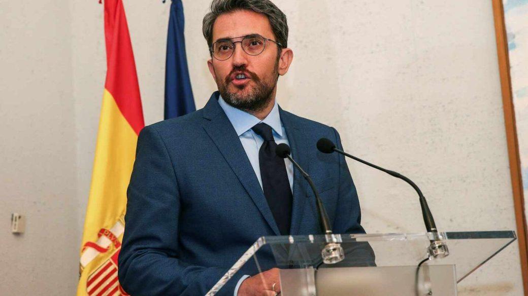 El ministro de Cultura y Deporte, Màxim Huerta.