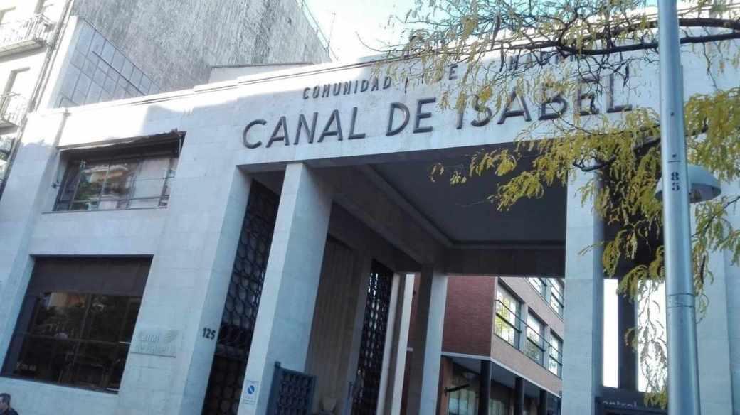 Canal de Isabel II.
