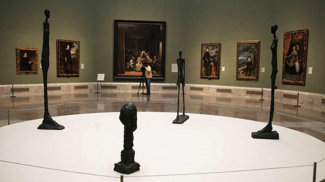 Exposición de Giacometti en el Museo del Prado