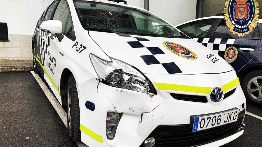 Vehículo de la Policía Local de Granada.