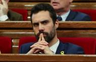 Roger Torrent es el nuevo presidente del Parlamento de Cataluña