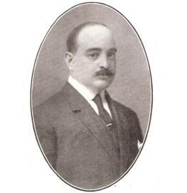 Luis García-Alíx, hacia 1920-24, cuando trabajaba en Melilla y era presidente de su Cámara de Comercio.