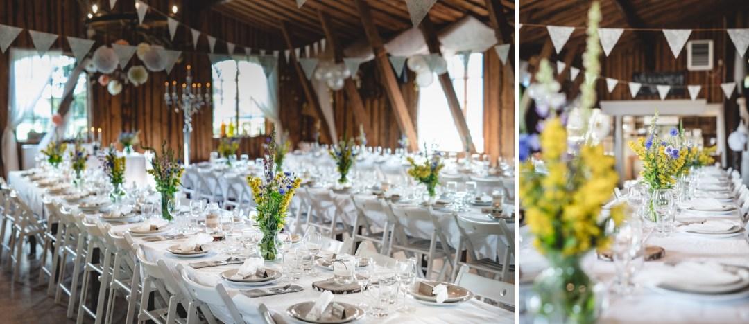 Marisol och Camila augustibröllop i Köping vid Tängsta Gård