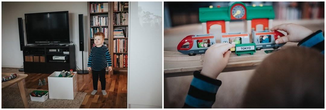Fotografering hemma hos Alvin