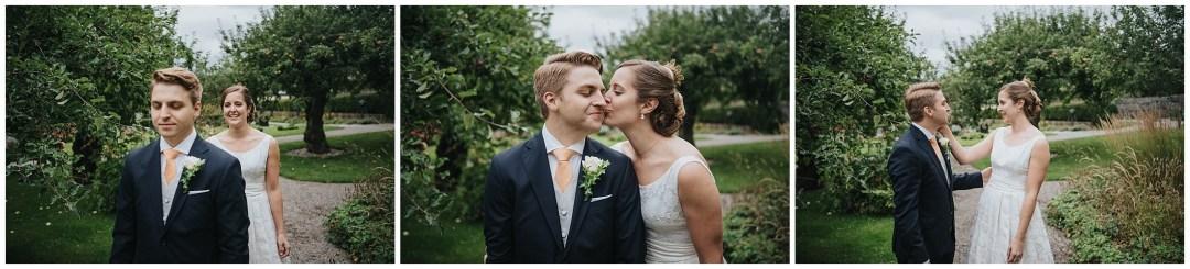 Martina och Johans bröllop på Ekerö och party vid Djurgården