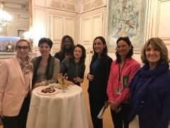 Jeudi 9 novembre : rencontre avec Brune Poirson, Secrétaire d'État au ministère de la transition écologique et solidaire.