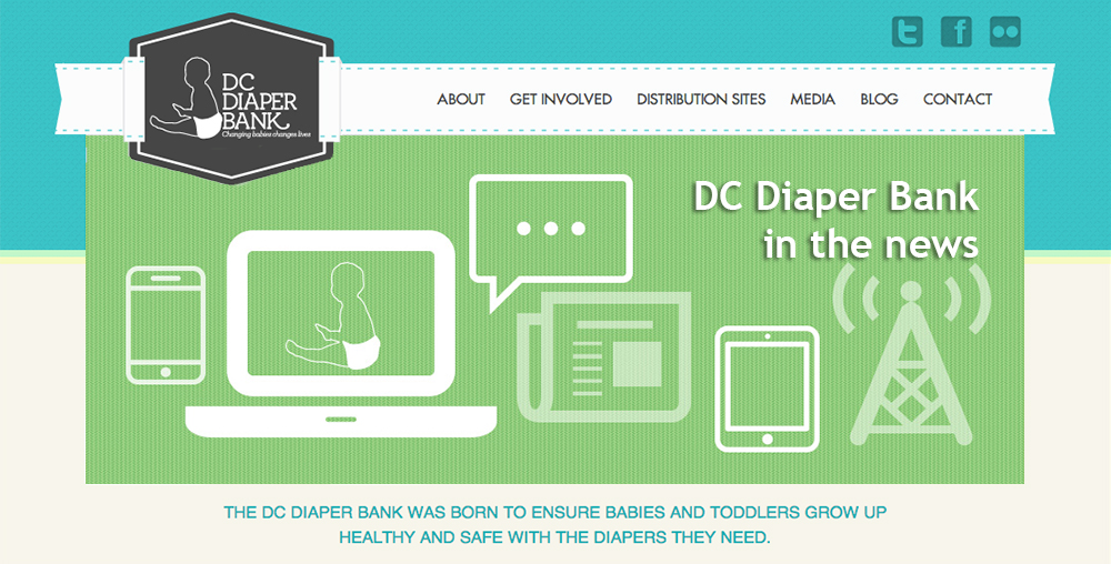 DC Diaper Bank in the news slider image