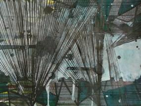 Wochow, Mischtechnik auf Papier, 21 x 29,7 cm, 2009