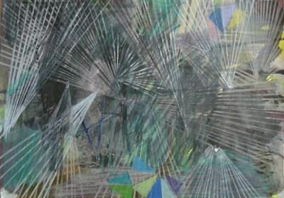 Lipten, Mischtechnik auf Papier, 21 x 29,7 cm, 2010