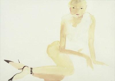 Kate, Aquarell, 41 x 59 cm, 2004
