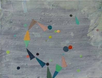 'Salto', Öl auf Leinwand, 30 x 40 cm, 2013