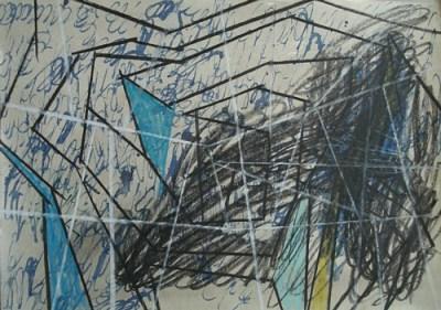 Pagram, Mischtechnik auf Papier, 21 x 29,7 cm, 2010