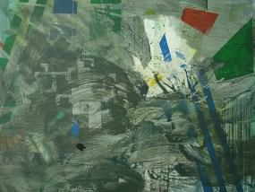 Terpt, Öl auf Leinwand, 140 x 170 cm, 2009