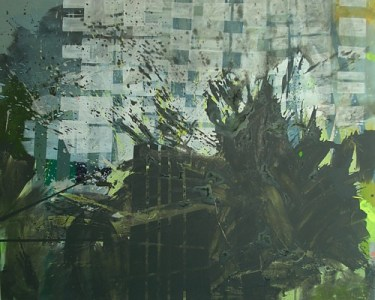 Kraupa, Öl auf Leinwand, 170 x 200 cm, 2009