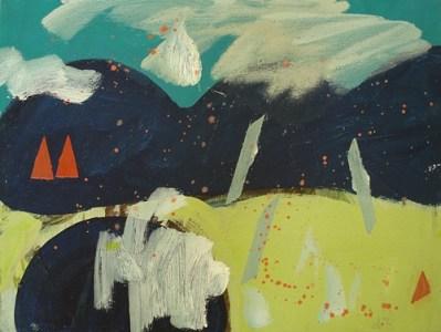 Piran, Öl auf Leinwand, 30 x 40 cm, 2008