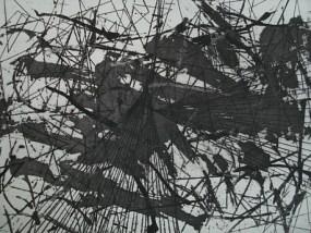 Gestrüpp III, Aquatinta, 14 x 20 cm, 2010