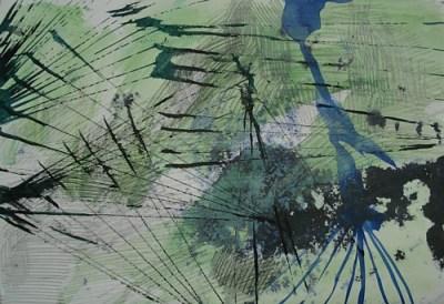 Gestrüpp, Tusche auf Papier, 21 x 29,7 cm, 2009