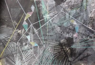 Neddemin, Mischtechnik auf Papier, 21 x 29,7 cm, 2016