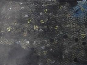 Dolgen, Mischtechnik auf Papier, 21 x 29,7 cm, 2016