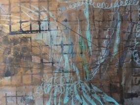 Rubitz, Mischtechnik auf Papier, 21 x 29,7 cm, 2016