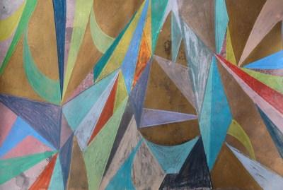 Kenz, Mischtechnik auf Papier, 21 x 29,7 cm, 2016
