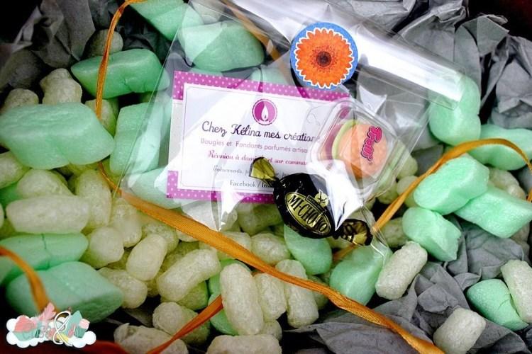 Chez Kelina créations - Bougies Halloween colis- EliseandCO