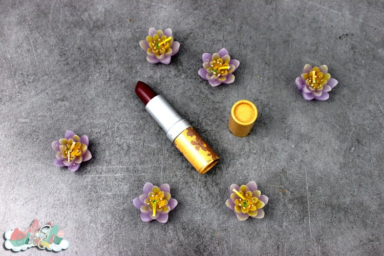 Unboxing Couleur Caramel - Rouge à lèvres 1 - Blog Eliseandco
