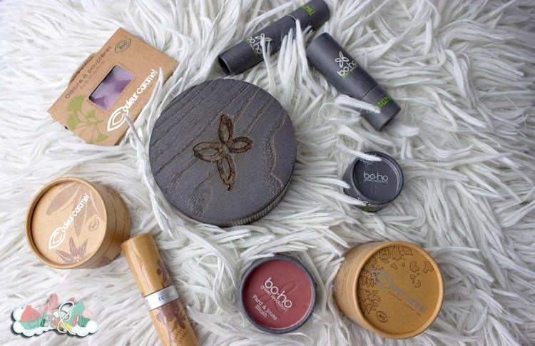 Boho et Couleur Caramel eliseandco make up bio