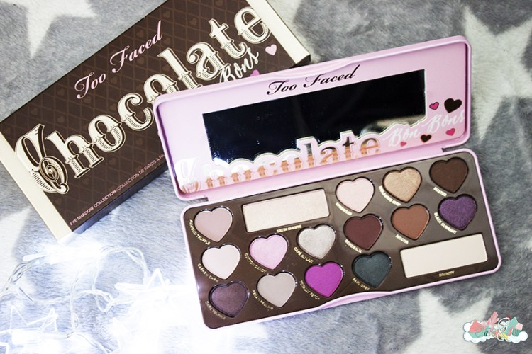 La Chocolate Bon Bons palette de chez Too Faced [Revue, Swatch, Tutoriel]