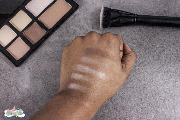 Freedom Makeup London - SWATCHES - Pro Strobe et Pinceau Contouring - eliseandco