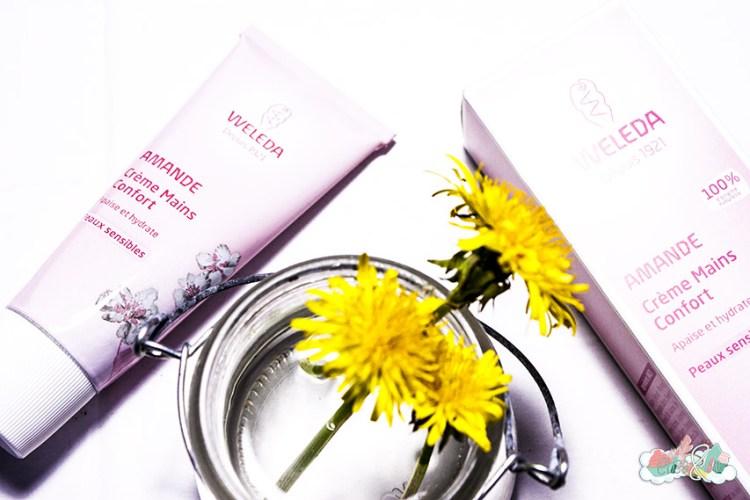BlogBox de Pharmashopi - Weleda Crème Mains Amande - Elise&Co