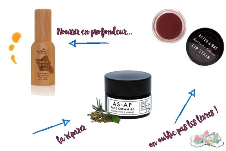 Green Luxe La routine visage de mes rêves - Nourrir et Réparer ma peau ! Elise&Co
