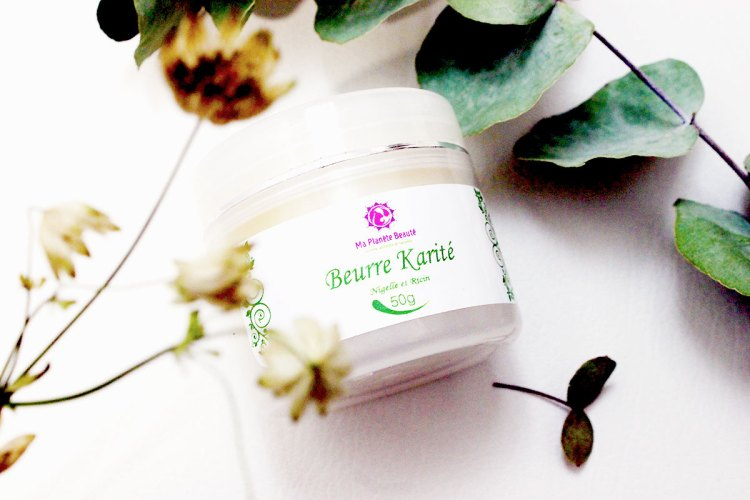 Beurre Karité (Nigelle et Ricin) - Ma Planète Beauté - Cheveux secs - EliseAndCo