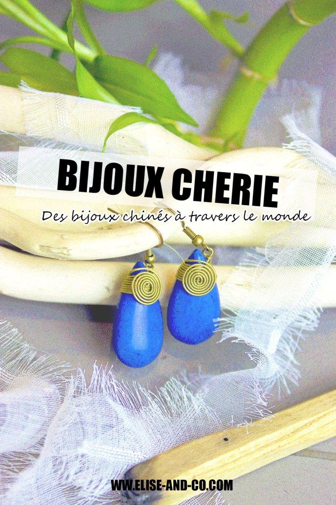 BIJOUX CHERIE Des bijoux chinés à travers le monde - pinterest - elise and co