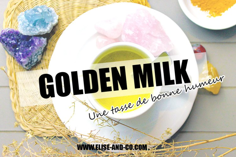 recette lait d'or ou golden milk boisson ayurvedique - vignette - elise and co