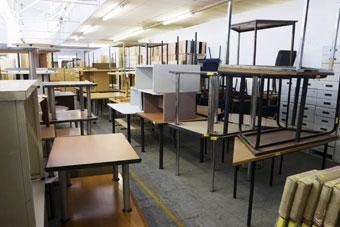 recyclage mobilier de bureau
