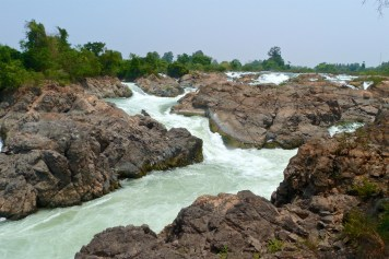 Cascade Somphamit 4000 iles laos blog voyage