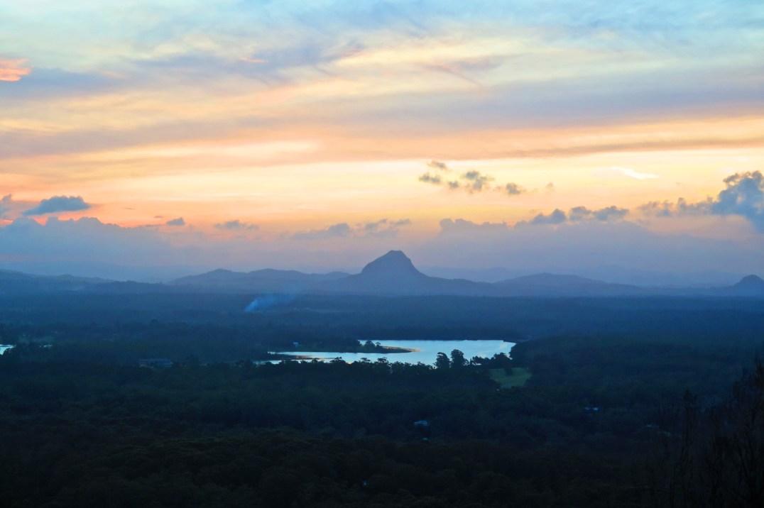 Vue depuis le Mont Tinbeerwah