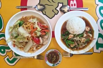 Dans notre boui-boui préféré de Vientiane