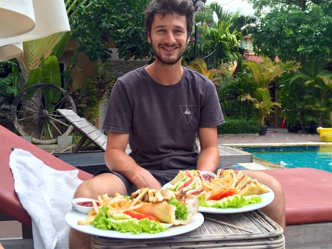 Dejeuner Battambang Cambodge blog voyage 18