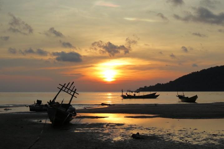 Mpai Bay matin Koh Rong Samloem Cambodge blog voyage 16