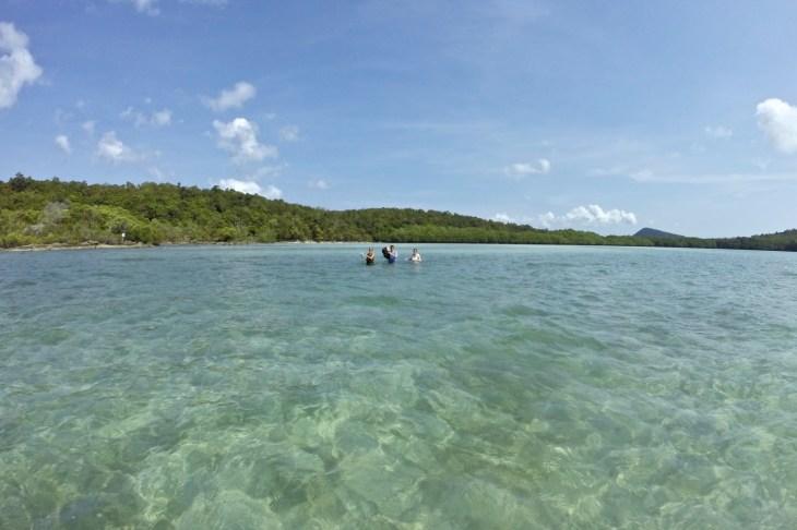 Traversée Baie Koh Rong Samloem Cambodge blog voyage 7