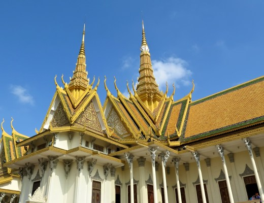 Palais Royal Phnom Penh Cambodge blog voyage 6