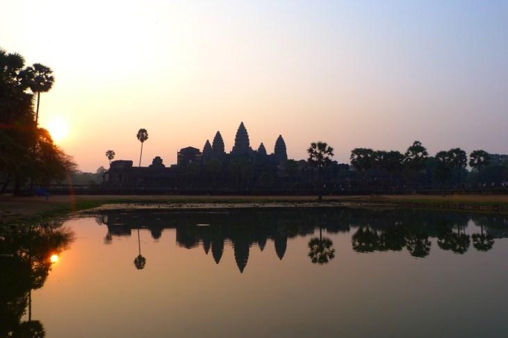 Angkor Wat lever soleil - Cambodge blog voyage