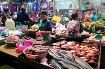 Old Market de Siem Reap - Angkor cambodge blog voyage