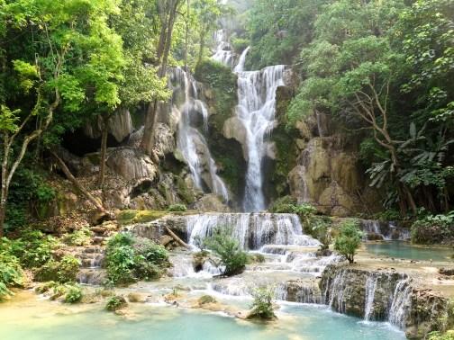 Cascade Kuang Si, bilan du laos blog de voyage