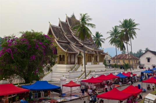 Centre-ville de Luang Prabang, bilan du laos blog de voyage