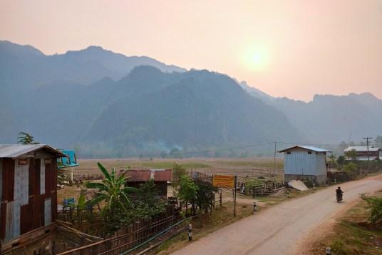 Village de Kong Lor boucle de Thakhek, bilan du laos blog de voyage