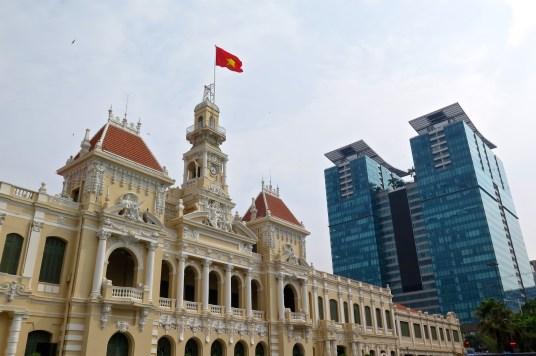 Hotel de ville Saigon Bilan Vietnam blog voyage 2016 15