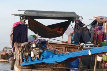 Sieste Can Tho Delta Mekong Vietnam blog voyage 2016 17
